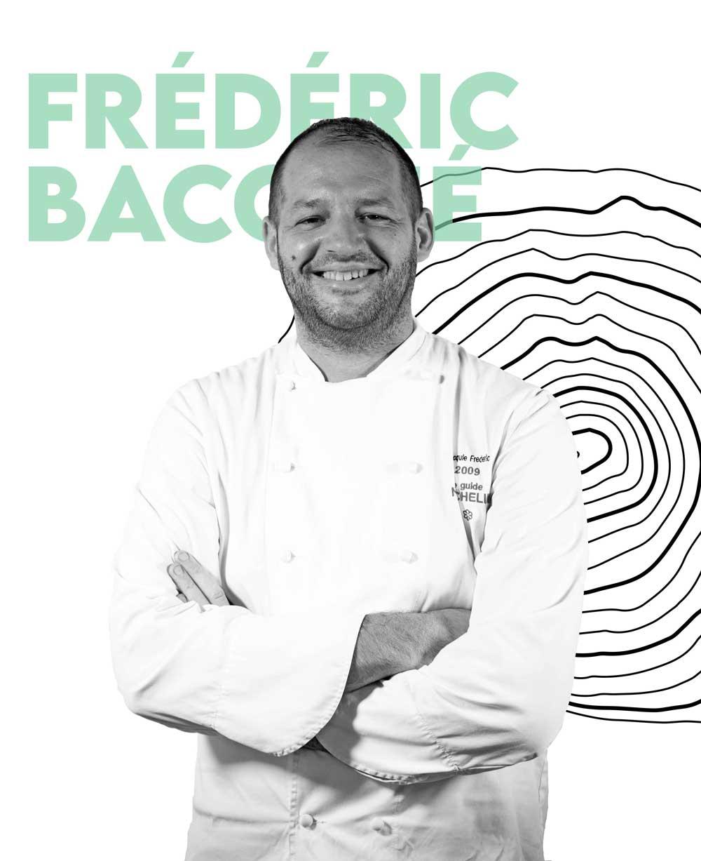 Frédéric Bacquié, le chef étoilé du restaurant L'Almandin