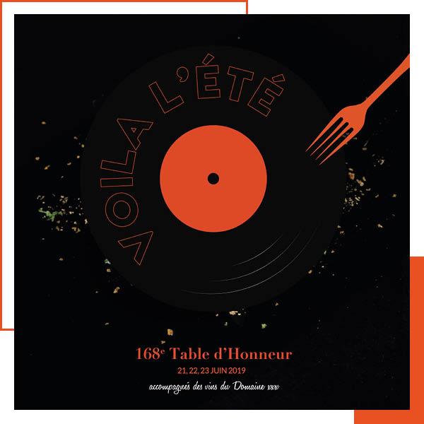 Table d'honneur 168