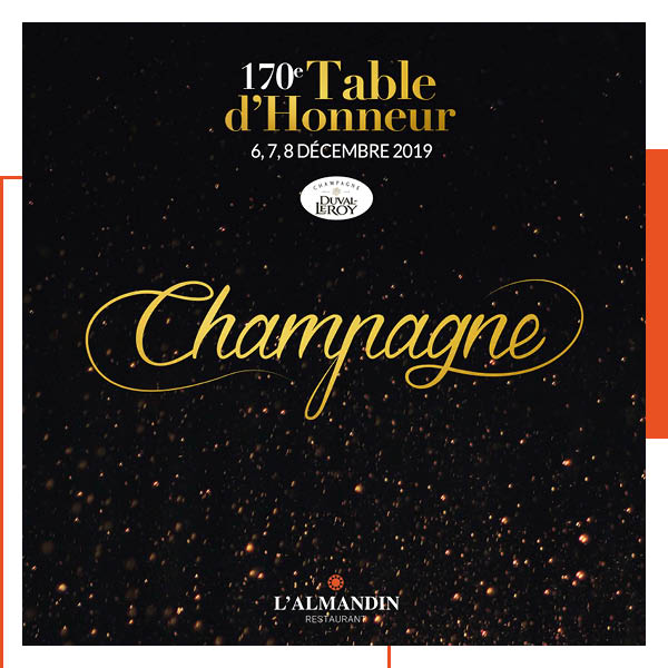 Table d'honneur 170