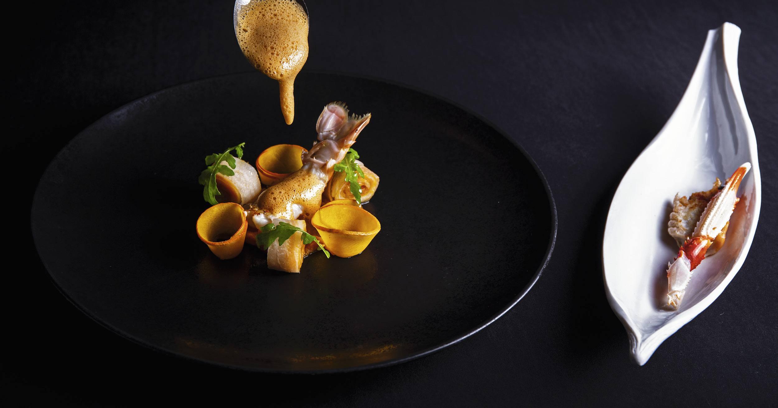 Langoustine, restaurant L'Almandin