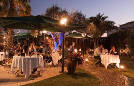 Une soirée en terrasse au restaurant étoilé L'Almandin